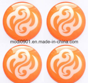 Epoxy Resin Logo PU Epoxy Dome Labels, UV-Resistant Resin Badges, Resin Dome Epoxy Sticker pictures & photos