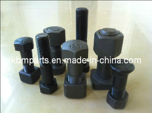 High-Strength Bolt&Nut for Track Shoe/Roller/Segment/Sprocket