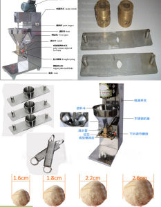 Food Processor Kitchen Equipment Meat Ball Meatball Maker Making Machine pictures & photos