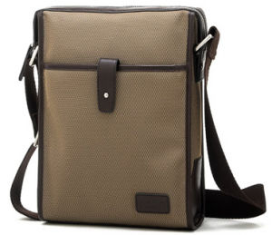 High Quality Cotton Men Shoulder Bag (B718)
