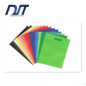 Color Flat Blank Non-Woven Bags High Quality Custom Logo pictures & photos