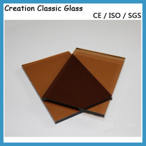 6mm Bronze/Coloor Float Glass for Glass Door with Certification pictures & photos