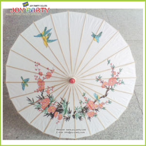 Radius 42cm Paper Umbrell for Stage and Dancing pictures & photos