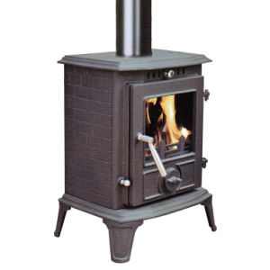 Small Modern Cast Iron Stove (FIPA060) , Small Wood Stove pictures & photos