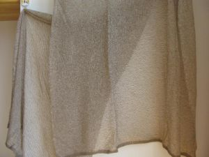 100% Cashmere Reversible C Knit Net Warp Xl Size pictures & photos