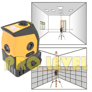 Pocket Self-Leveling Five-Point Laser Level (SDG-230A) pictures & photos