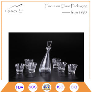Set of 7 Art Decorative Glass/Glass Liqueurs Bottle pictures & photos