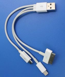 Mobile USB Cable for Andriod IP4s Charging Date Cable pictures & photos