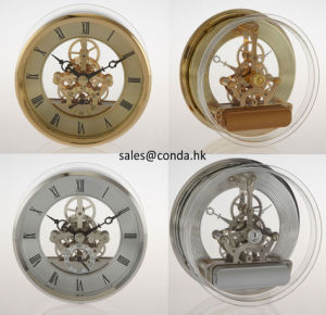 Quartz Brass Clock Movement pictures & photos