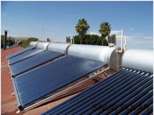 Domestic Integrated Stainless Steel Solar Water Heater pictures & photos