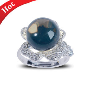 2014 Blue Stylish Simplicity Jewellery Personality Perot Natural Stone Rings