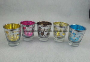 Laser Engraved Logo for Metallic Shot Glass pictures & photos