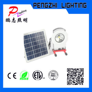 Rachargeable LED Flood Light with Solar Panel pictures & photos
