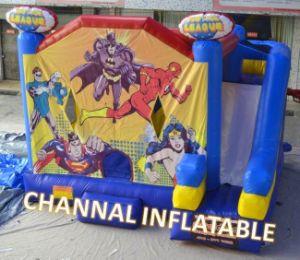 Justice League Bouncy Combo Inflatable Bouncy Castle Slide pictures & photos