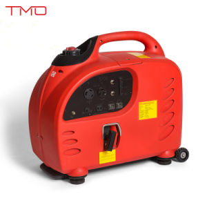 Digital Generator Inverter, Super Silent 2000W Gasoline Inverter Generator, 220V Portable Pure Wave Inverter pictures & photos
