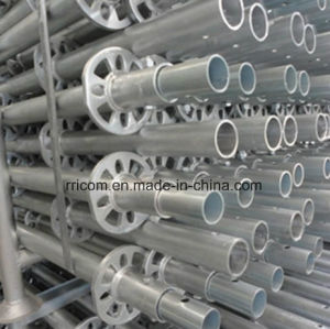 Galvanized Scaffold Standard/ Verticals for Ring Lock pictures & photos
