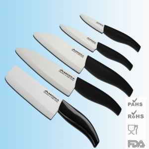 5 Designs Ceramic Knives for Kitchenware Kitchen Impletement pictures & photos