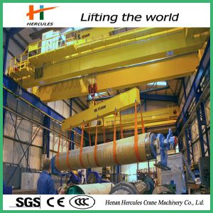 Double Girder Bridge Crane with Carrier Beam pictures & photos
