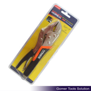 TPR Handle Right Angle Jaw Locking Plier (T03178)