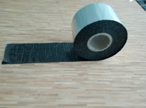Asphalt Tape / Aluminium Self Adhesive Bitumen Roof Waterproofing Membrane pictures & photos