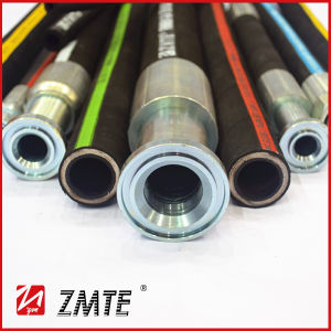 Zmte SAE 100r2at Flexible Hydraulic Hose pictures & photos
