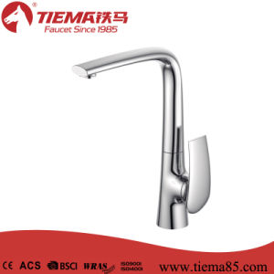 2017 Stylish Brass Single Lever Kitchen Mixer (ZS41105A) pictures & photos