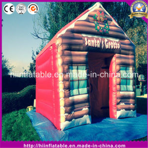 Hot Christmas Ornament Inflatable Painting House pictures & photos