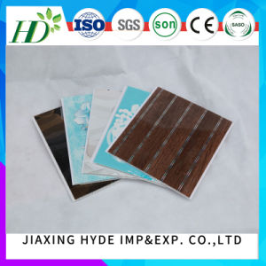 20/25/30cm Width Home Decoration PVC Panel Wall Panel Tiles (RN-122) pictures & photos