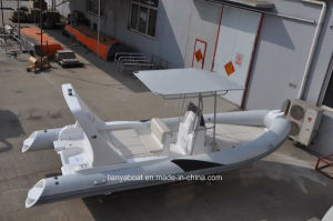 Liya 6.6m 22ft Rigid Inflatable Boat Inflatable Dinghy Tender China Rib Boat pictures & photos