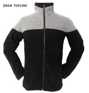 Men Herringbone Micro Fleece Leisure Jacket pictures & photos