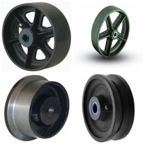 China Customized Cast Iron Sand Casting Wheels (OEM) pictures & photos