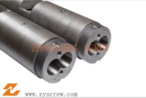Twin Parallel Screw & Barrel for Plastic Extruder pictures & photos