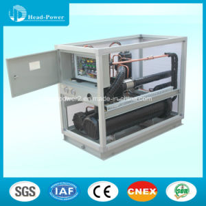 150kw Remote Monitoring Water Cooled Water Chiller Scroll Industrial Heat Pump Chiller pictures & photos