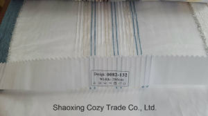 New Popular Project Stripe Organza Voile Sheer Curtain Fabric 0082132 pictures & photos