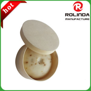 Custom Poplar Wooden Round Box in China pictures & photos