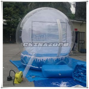 Super Quality Clear Inflatable Snow Globe for Christmas Day pictures & photos