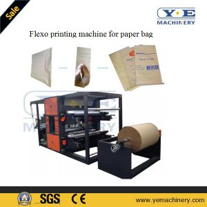 Multi Layer Cement Paper Bag Making Machine in-Line Flexo Printing Machine pictures & photos