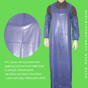 Disposable Water-Resistant PVC Apron pictures & photos