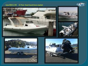 China Rib Liya 8.3m Fiberglass Tender Boats Passenger Crew Boat for Sale pictures & photos