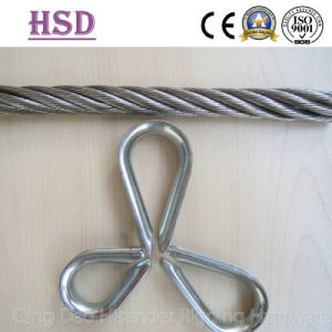 Thimble and Wire Rope, Stainless Steel 316, Ss304 European Type, Us Type G414, Us Type G411 pictures & photos