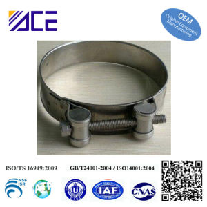 Heavy Duty High Strengh Pipe Clamp/Hose Clamp/Tube Clamp pictures & photos