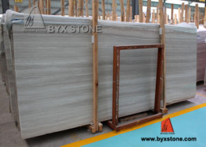 White Grey Coffee Wooden Vein Marble Slab for Floor Tiles pictures & photos