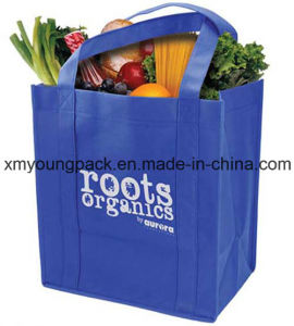 Extra Large Custom Non Woven Reusable Grocery Tote Bags pictures & photos
