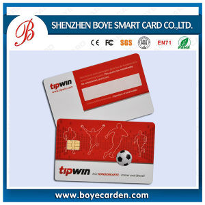 Pre-Printed ISO 7816 Sle4442/Sle5542 Contact IC Card pictures & photos