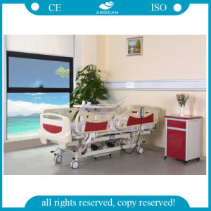 AG-By003c Used for Intensive Care Adjustable Five-Functions Electric Hospital Bed for Paralyzed Patients pictures & photos