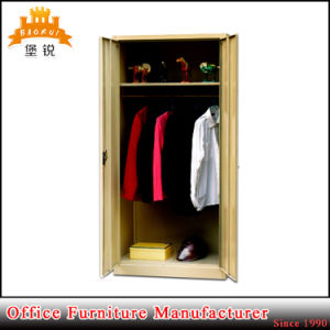 Cheap Metal Office Furniture Dressing Steel Wardrobe Cabinet pictures & photos