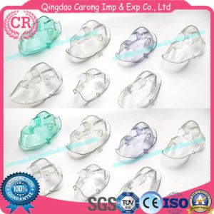 High Quality Medical Disposable Sterile Plastic Anaesthetic Face Mask pictures & photos