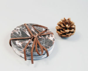 High Quality Coaster in Mosaic Marble pictures & photos
