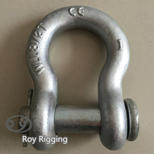 Us Type Bow Shape Anchor Shackle with Round Pin pictures & photos