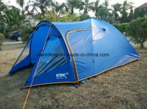 1 Lobby 1 Room Outdoor 2 Layer Camping Tent pictures & photos